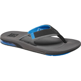 Reef Fanning 2.0 Teenslippers Heren, grey/blue